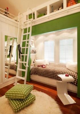 现代儿童卧室装修效果图大全