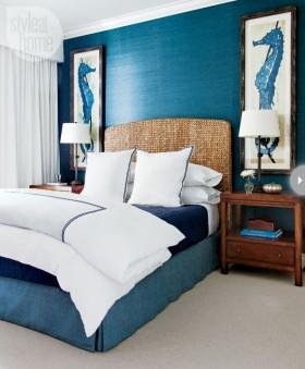 地中海主卧室装修效果图欣赏