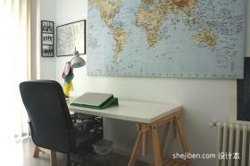 北欧风格小书桌装修图片