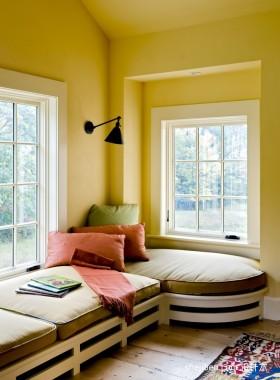 阁楼飘窗装修效果图欣赏