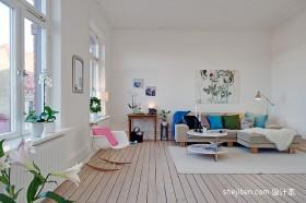 最新现代简约客厅装修效果图大全