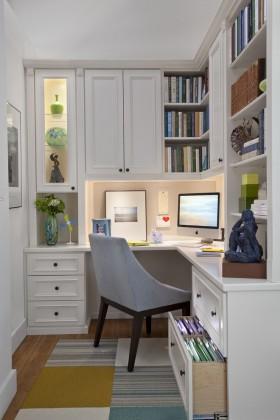 欧式小书房装修效果图大全
