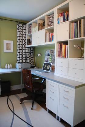 最新现代风格书房装修效果图大全