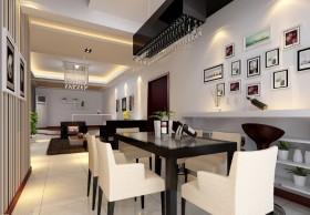 现代风格餐厅照片墙效果图欣赏