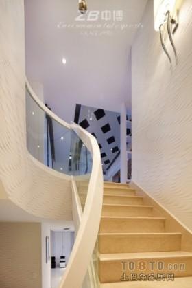 现代别墅楼梯装修效果图