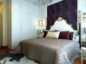 最新欧式风格主卧室装修效果图大全