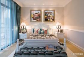 最新地中海主卧室装修效果图欣赏
