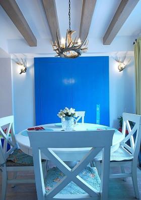地中海風格餐廳設計效果圖