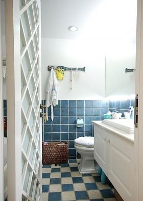 地中海风格家用卫生间装修效果图