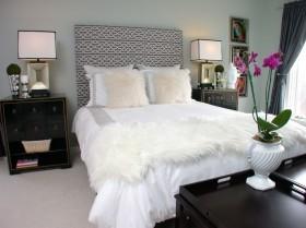 最新现代风主卧室装修效果图片欣赏