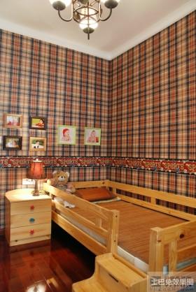 80平米小户型儿童房壁纸装修效果图