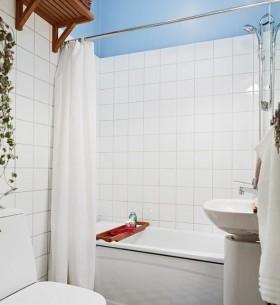 现代简约小卫生间装修效果图