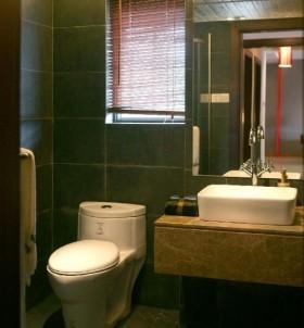 现代简约小卫生间装修效果图大全