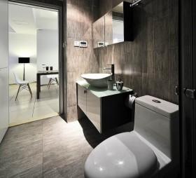 最新现代简约小卫生间装修效果图欣赏