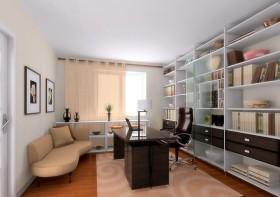 现代简约书房装修效果图大全