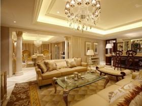 最新欧式客厅装饰图片
