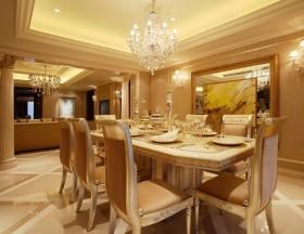 最新欧式餐厅装饰图片
