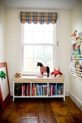 现代书房飘窗设计图片