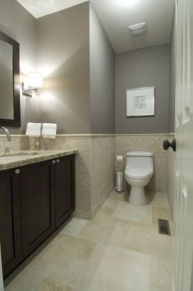 最新现代小卫生间装修效果图大全