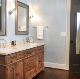最新美式风格小卫生间装修效果图欣赏