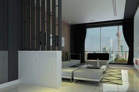 現代風格客廳隔斷裝修效果圖大全