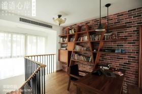 简易书房书架效果图