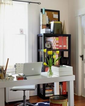 现代简约小书房装修效果图大全