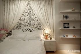 2013最新现代风格主卧室装修效果图大全