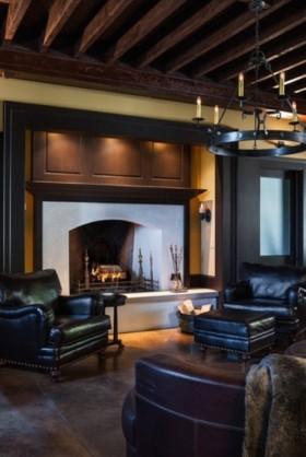 阁楼客厅设计图欣赏