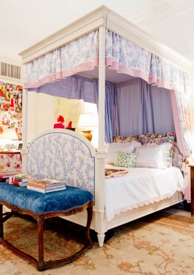 欧式儿童公主房装修效果图欣赏