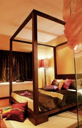 中式风格卧室装修效果图欣赏