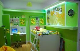 小儿童房装修效果图大全2013图片