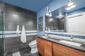 卫生间浴室柜设计效果图片