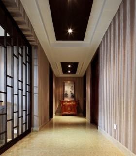 中式走廊玄关装修效果图大全2013图片
