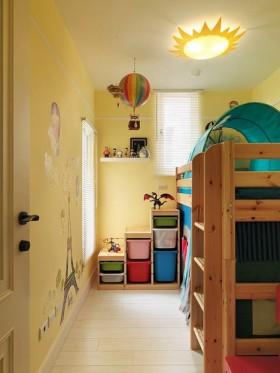 儿童房上下床装修效果图