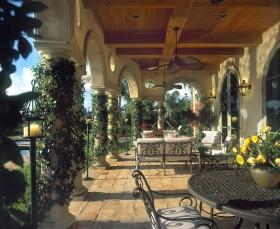 花园装修设计效果图欣赏