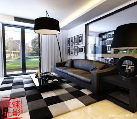 100平米客厅装修效果图