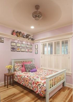 风格欧式风格欧式儿童房卧室床装饰图片