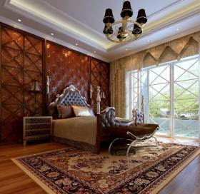 美式主卧室吊顶装修效果图大全