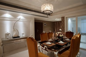 欧式餐厅吊灯装修设计