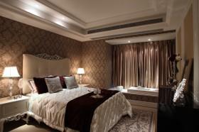 欧式现代主卧室飘窗装修效果图