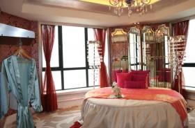 现代婚房卧室装修效果图
