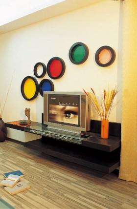 时尚家装电视墙图片