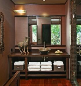 中式小卫生间装修效果图欣赏