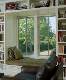 书房飘窗装修效果图片