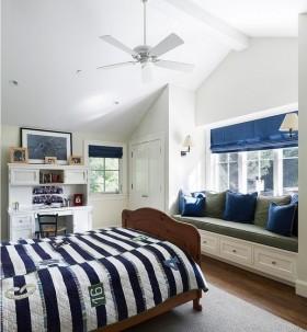 欧式卧室飘窗装修效果图片欣赏