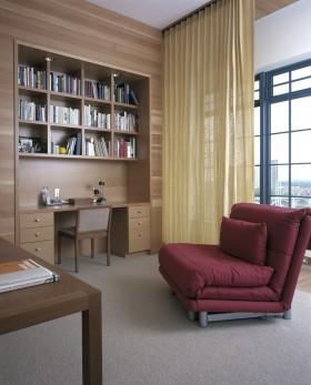 现代书房装修效果图片欣赏