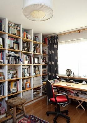 最新现代风书房装修效果图片欣赏