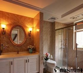 2013最新现代风格小卫生间装修效果图片