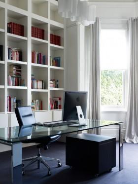书房书柜装修效果图片欣赏